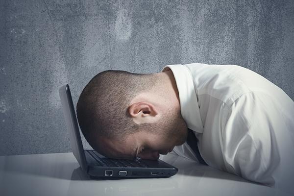No insistas:  el trabajo no es la felicidad