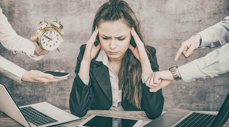 sobrecarga laboral, estrés laboral