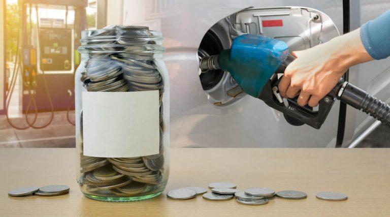 dinero para gasolina precio de la gasolina