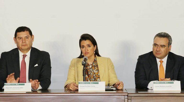 margarita ríos farjat conferencia de prensa factureras sobre cancelación de sello digital
