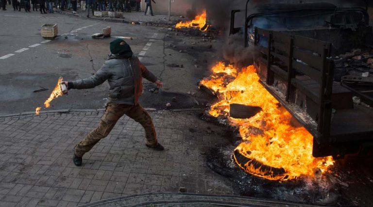 vandalismo y las pintas de las manifestaciones