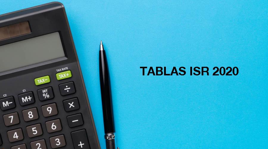 Tablas ISR 2020