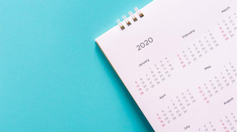 Días inhábiles para el SAT en 2020