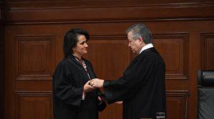 Investidura de Margarita Ríos-Farjat en la Suprema Corte de Justicia de la Nación