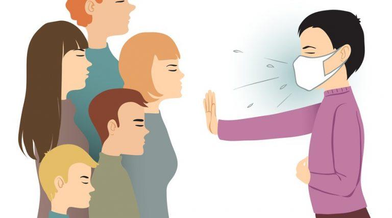Sana Distancia preventiva contra el coronavirus