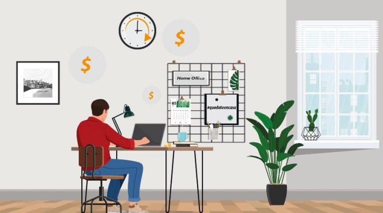 ¿Se debe pagar horas extras al realizar home oficce?