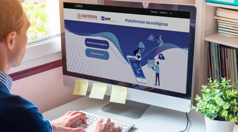 Portada SAT anuncia nuevo minisitio de plataformas tecnológicas para contribuyentes