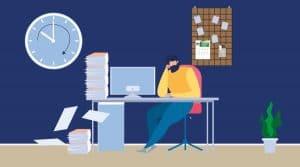 ¿Sientes que haciendo home office trabajas más tiempo?, el 70% de las personas opinan lo mismo.