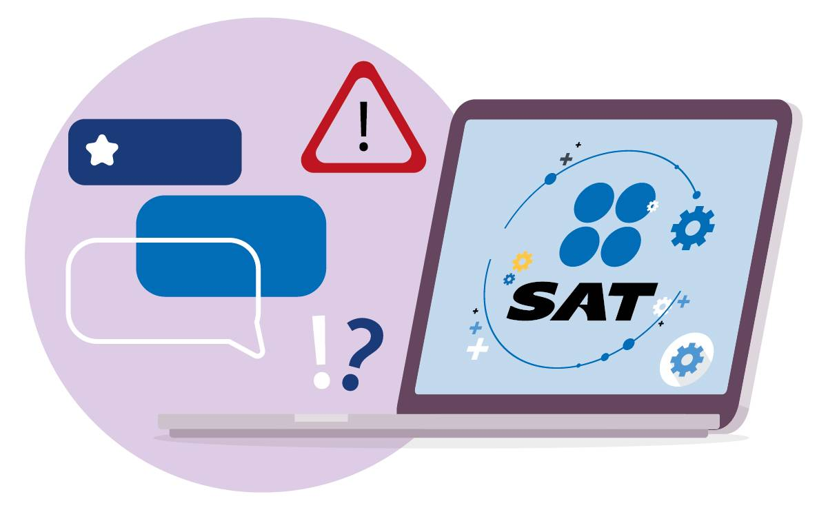 Los usuarios siguen reportando fallas en página del SAT