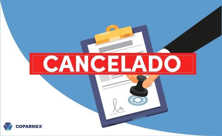 agresiva cancelación de sellos