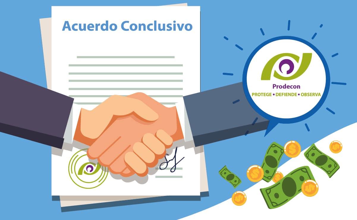 Acuerdos conclusivos recaudan 14 mil millones de pesos en primer semestre