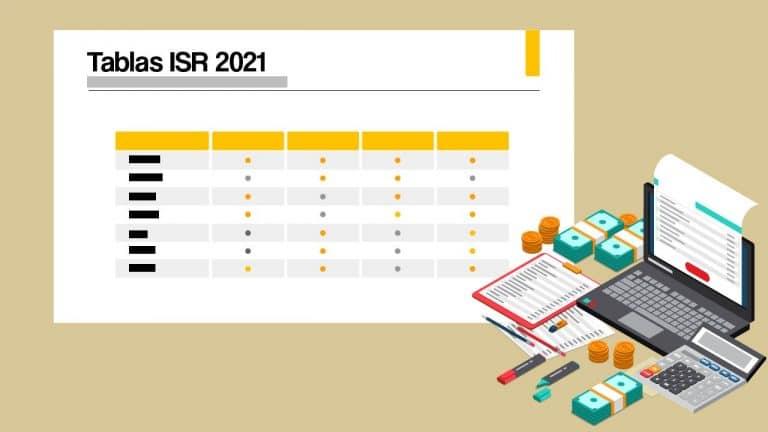 Tablas ISR 2021