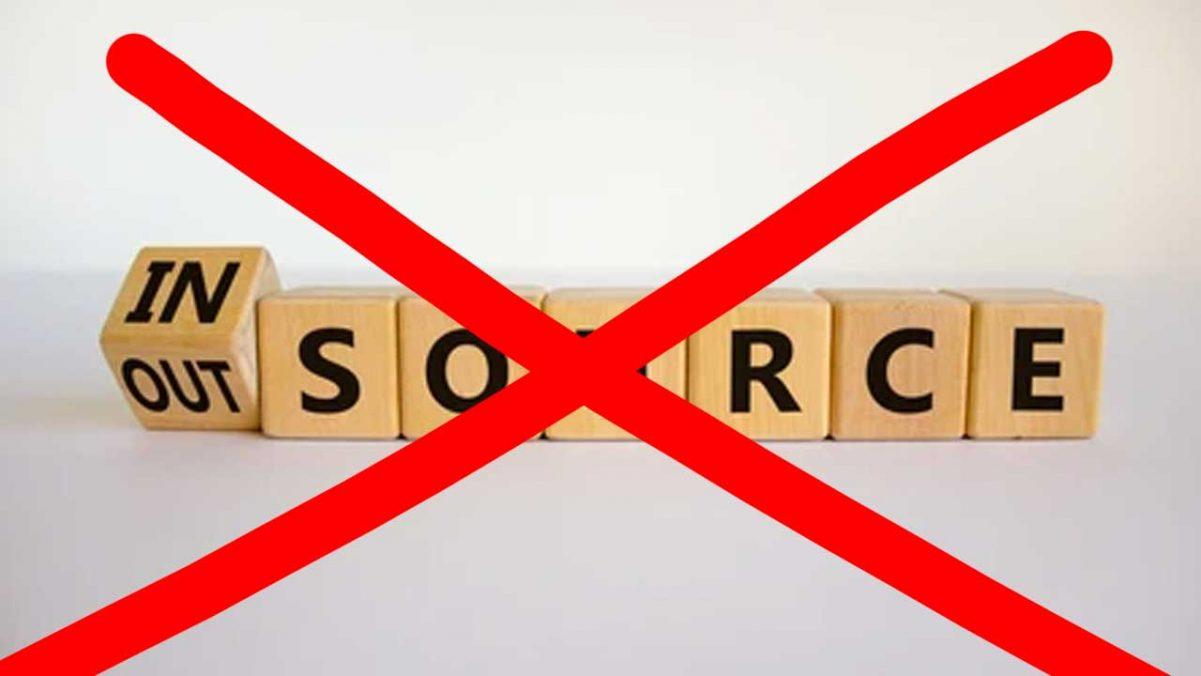 El insourcing será el primer esquema en desaparecer con la reforma en materia de subcontratación