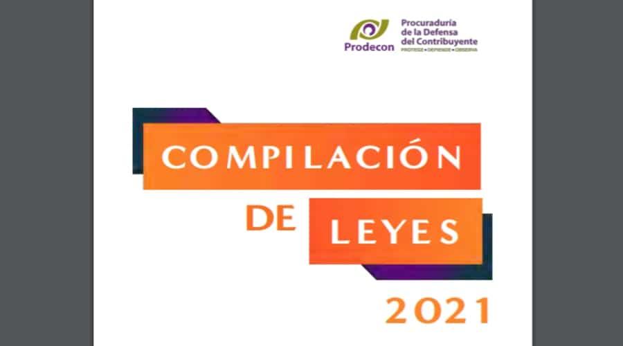 La Prodecon publicó una compilación de leyes 2021