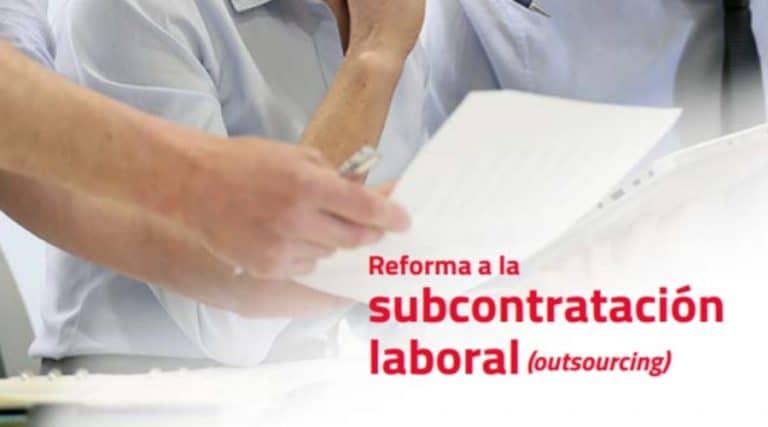 Gremio contable publica guía sobre la reforma a la subcontratación laboral (outsourcing)