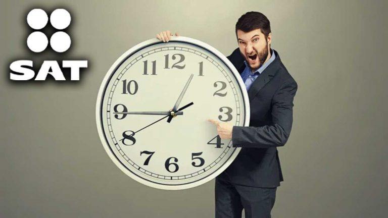 Un citatorio del SAT puede tener una misma hora de inicio y de conclusión