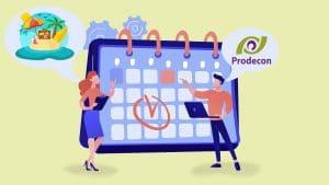 Recuerda los días inhábiles y periodos de vacaciones de la Prodecon del 2021