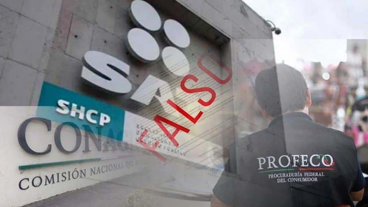 Cuídate de oficios falsos presuntamente de autoridades como el SAT, Profeco o Conagua