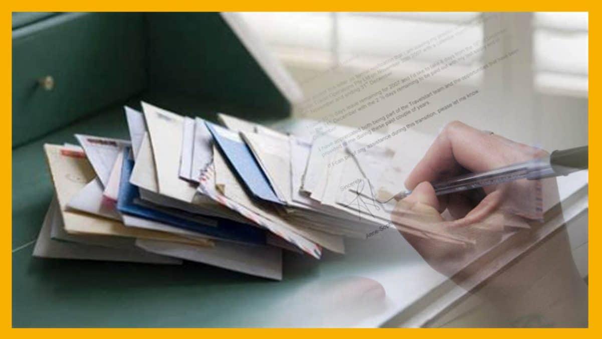 La notificación por correo es ilegal sin no se entrega al destinatario o representante legal